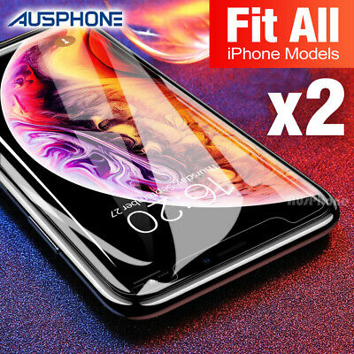AU3.99 • Buy Tempered Glass Screen Protector For Apple IPhone 12 11 Pro XS Max XR 8 7 6S Plus