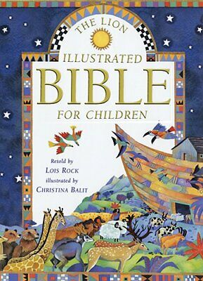 The Lion Illustrated Bible For Children By Rock, Lois Hardback Book The Cheap • 3.59£