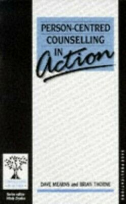 £3.29 • Buy Person-Centred Counselling In Action By Brian Thorne Paperback Book The Cheap