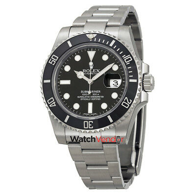 $ CDN20863.99 • Buy Rolex Oyster Perpetual Submariner Cerachrom Bezel Steel Mens Watch 116610LN