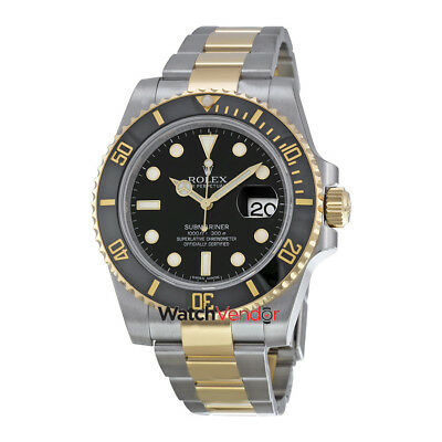 $ CDN22284.99 • Buy Rolex Submariner Black Dial Rolex Oyster Automatic Mens Watch 116613BKSO