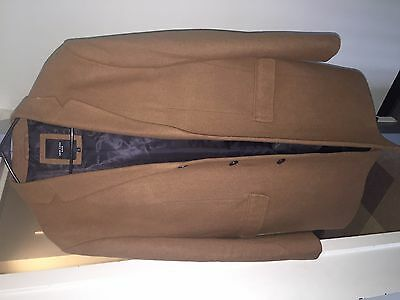 $50 • Buy New Look Camel Overcoat Size Large