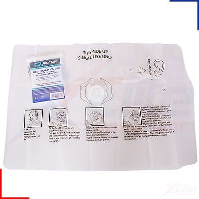 Qualicare Mouth To Mouth CPR Resuscitation Aid Face Shield With Valve • 5.39£
