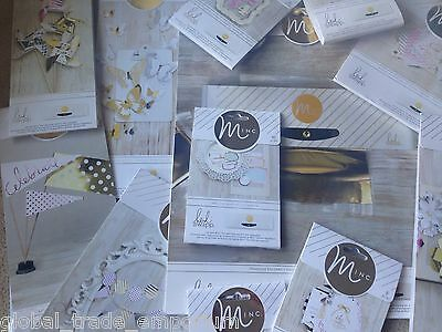 HEIDI SWAPP MINC Hot Foiling Accessories - Labels Number Carrier Sheets Tags ETC • 22.95£