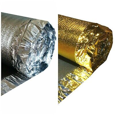5mm Sonic Gold Acoustic Underlay - Wood - Laminate Flooring Underlay - Any Size • 9.89£
