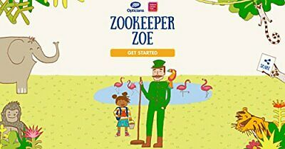 Zookeeper Zoe By Boots Opticians Book The Cheap Fast Free Post • 4.49£