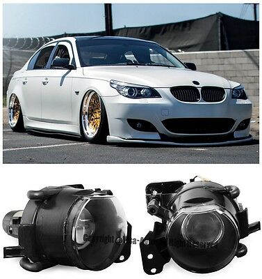 $386 • Buy For 04-11 BMW E60 5-Series E90 3-Series M3 M5 Style Front Projector Fog Lights