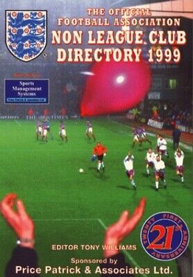 £3.29 • Buy The Non-league Club Directory 1999 (Sky Sports) Paperback Book The Cheap Fast