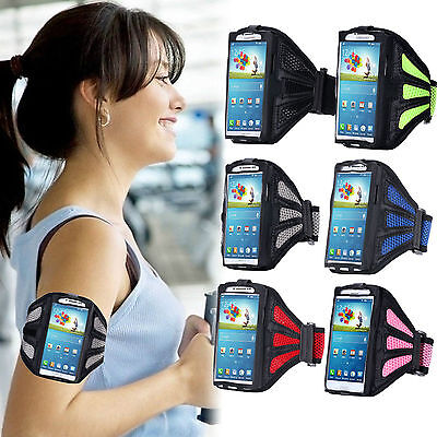 Sport Armband Gym Running Jogging Holder Case Cover For All Samsung IPhone Sony • 2.89£