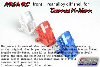 AU99.99 • Buy 1/5 Traxxas X-Maxx Diff Shell Alloy Front Or Rear Silver By Area RC Fit Xmaxx