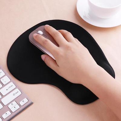 £3.99 • Buy Black Comfort Wrist  Support Mat Mouse Mice Pad Computer PC Laptop Soft