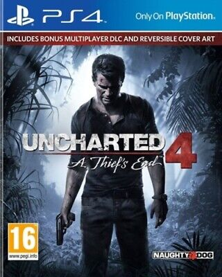 £6.38 • Buy Uncharted 4: A Thief's End (PS4) PEGI 16+ Adventure Expertly Refurbished Product
