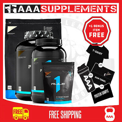 AU49 • Buy Rule One Proteins - R1 Whey Blend Lean Protein Powder Wpc Wpi Blend + Free Post