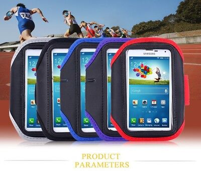 Sport Armband Gym Running Jogging Holder Case Cover For All Samsung IPhone Nokia • 3.99£
