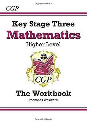 £2.99 • Buy KS3 Maths Workbook (with Answers) - Higher: Perfect Fo... By CGP Books Paperback