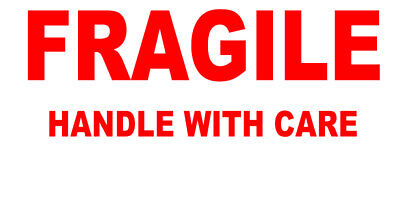650 FRAGILE - Handle With Care Labels Small Stickers Careful Delicate Delivery  • 3.49£