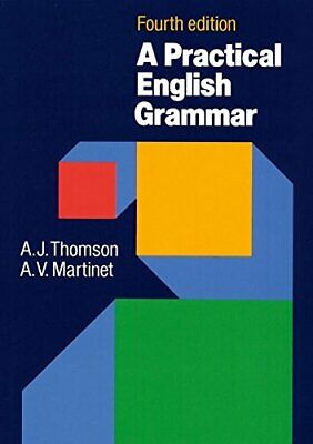 £3.29 • Buy A Practical English Grammar (4th Edition) By Martinet, A. V. Paperback Book The