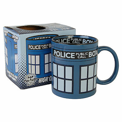 Doctor Who Tardis Mug. Dr Who Cup Tea Coffee Novelty Ideal Gift For Fan • 4.95£