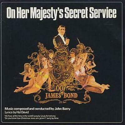 On Her Majesty's Secret Service CD (2003) ***NEW*** FREE Shipping, Save £s • 6.87£