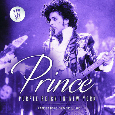Prince : Purple Reign In New York: Carrier Dome, Syracuse, 1985 CD 2 Discs • 12.15£
