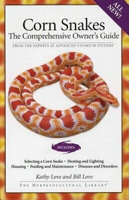 £17.99 • Buy Corn Snakes: The Comprehensive Owner's Guide (The Herp... By Bill Love Paperback