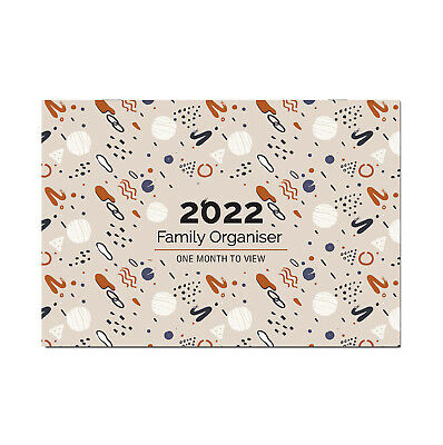 £7.99 • Buy 2022 Family Appointment Planner/Calendar One Month To View/home/office