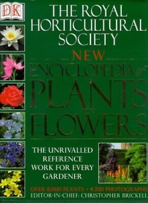 The Royal Horticultural Society New Encyclopedia Of Plants And ... Hardback Book • 3.99£