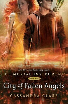 The Mortal Instruments 4: City Of Fallen Angels By Cassandra Clare Paperback The • 3.99£