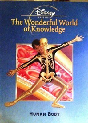 £3.99 • Buy Disney Presents The Wonderful World Of Knowledge HUMAN BODY Book The Cheap Fast