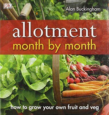 £8.99 • Buy Allotment Month By Month Book The Cheap Fast Free Post