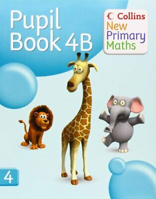 Collins New Primary Maths - Pupil Book 4B (Busy Ant Maths European ... Paperback • 5.49£