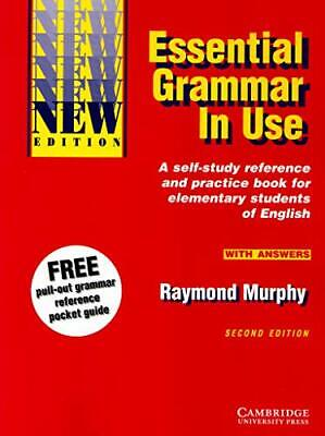£5.99 • Buy Essential Grammar In Use With Answers: A Self-St... By Murphy, Raymond Paperback