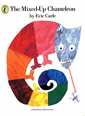 The Mixed-up Chameleon (Picture Puffin) By Carle, Eric Paperback Book The Cheap • 6.99£