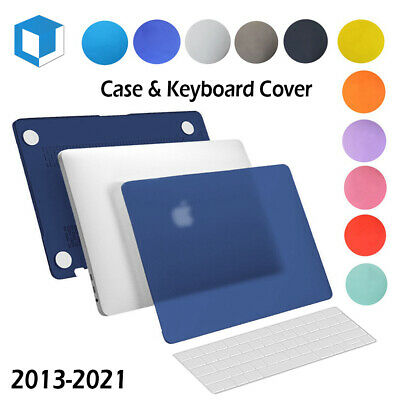 $6.99 • Buy Rubberized Hard Cover Case For Macbook Pro13/15  Retina Air 11/13 +Keyboard Skin