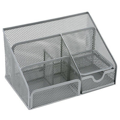 £12.49 • Buy Osco Mesh Large Desk Organiser Scratch-resistant With Non-marking Rubber Pads