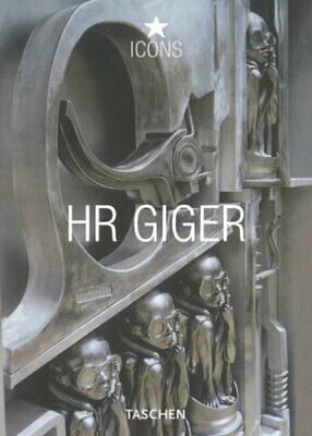 Icons HR Giger By Stanislav Grof Paperback Book The Cheap Fast Free Post • 7.49£