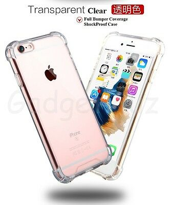 AU10.37 • Buy Drop Shock Proof TPU Clear Back Bumper Case Cover For Samsung Galaxy S7 Edge