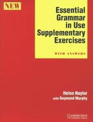 £5.99 • Buy Essential Grammar In Use Supplementary Exercises... By Murphy, Raymond Paperback