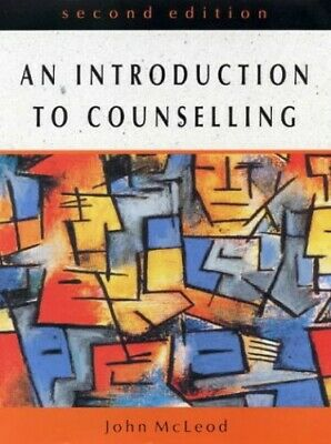 INTRO TO COUNSELLING (2ND EDN) By MCLEOD Paperback Book The Cheap Fast Free Post • 5.99£