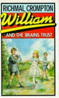 William And The Brain's Trust By Crompton, Richmal Paperback Book The Cheap Fast • 16.99£