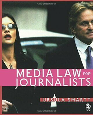 £6.09 • Buy Media Law For Journalists By Smartt, Ursula Paperback Book The Cheap Fast Free