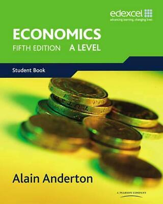 £4.99 • Buy A Level Economics For Edexcel By Anderton, Alain Paperback Book The Cheap Fast