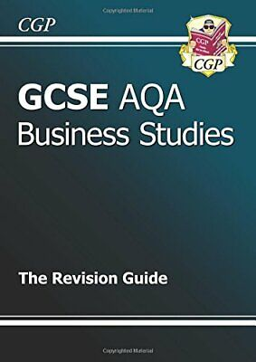 £3.59 • Buy GCSE Business Studies AQA Revision Guide (A*-G Course)... By CGP Books Paperback