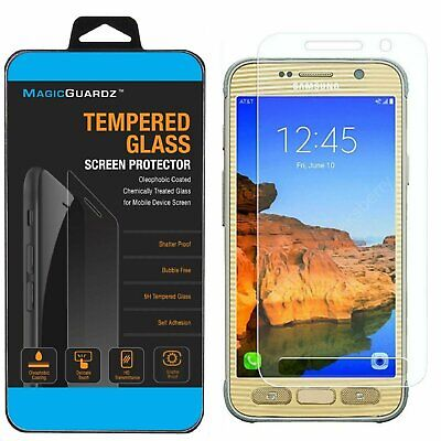 $ CDN3.02 • Buy Premium Tempered Glass Screen Protector Guard For Samsung Galaxy S7 Active