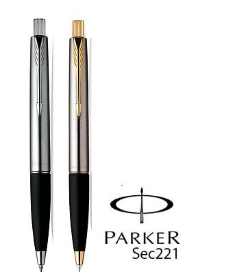 £12.99 • Buy Parker Frontier Stainless Steel Ball Pen - Chrome & Gold With Free Gift Box