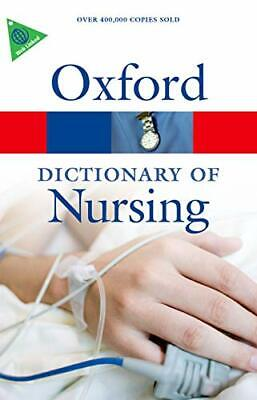 A Dictionary Of Nursing 6/e (Oxford Quick Reference) Book The Cheap Fast Free • 5.49£