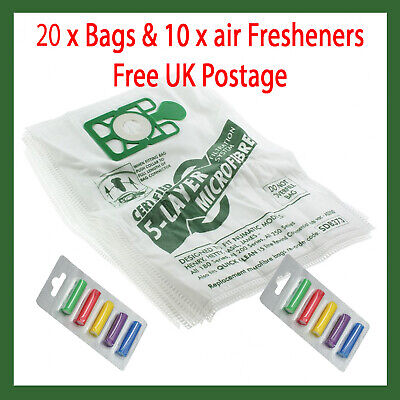 20 Bags For Numatic Henry Hetty James Vacuum Cleaner Hoover Bags 10 X Fresheners • 9.95£