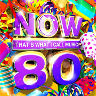 Various Artists : Now That's What I Call Music! 80 CD 2 Discs (2011) Great Value • 1.99£
