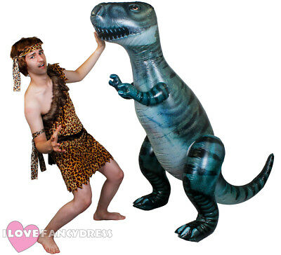 £19.99 • Buy Giant Inflatable Dinosaur 5ft 7 Pre Historic Fancy Dress Party Blow Up Toy