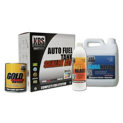 AU135 • Buy KBS Auto Car Fuel Tank Sealer Repair Kit Rust And Corrosion Prevention Degreaser